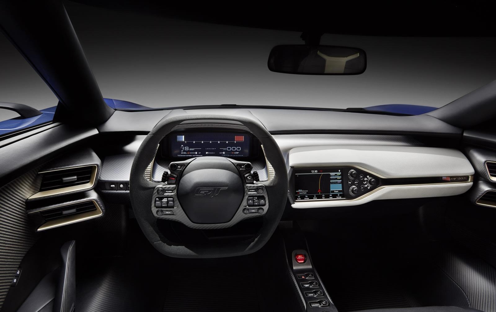 Ford To Share Gt Customizable Digital Instrument Display Technology With Other Ford Vehicles